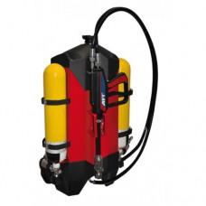 کوله پشتی آتش نشانی واترمیست با دستگاه تنفسی AFT 10/01+BA