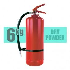 کپسول آتش نشانی پودر و گاز 6 کیلویی