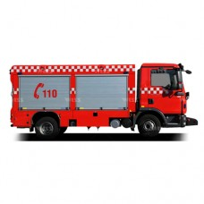 خودروی امداد و آتش نشانی ویس شاسی من WISS MAN TGL 8.220 BL 4x2