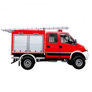 خودروی امداد و آتش نشانی ویس شاسی ایوکو دیلی WISS Iveco Daily 55S17W 4x4