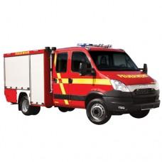 خودروی امداد و آتش نشانی ویس شاسی ایوکو دیلی WISS Iveco Daily 70C17 TSF 4x2