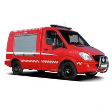 خودروی امداد و آتش نشانی ویس شاسی مرسدس بنز اسپرینتر WISS Mercedes-Benz Sprinter 319 CDI 4x2