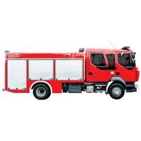 خودروی امداد و آتش نشانی ویس شاسی رنو WISS Renault D14 4x2