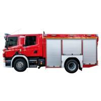 خودروی امداد و آتش نشانی ویس شاسی اسکانیا WISS Scania P320 4x2