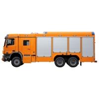 خودروی امداد و آتش نشانی ویس شاسی مرسدس بنز آکتروس WISS Mercedes-Benz Actros 3344 6x6